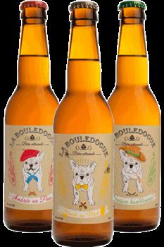 Coffret de bières artisanales Bio La Bouledogue