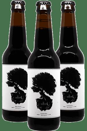 Coffret de Bières Wood Species Imperial Stout de la brasserie La Débauche