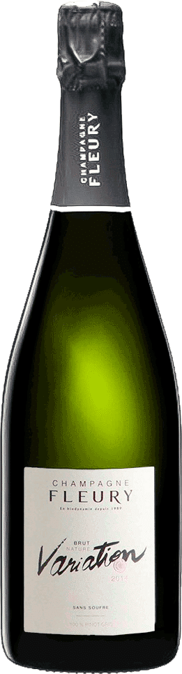 Champagne Variation 2014 Brut Nature de la maison Fleury