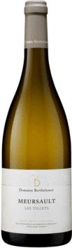 Bouteille de vins Meursault Les Tillets du domaine Berthelemot