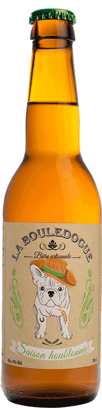 Saison Houblonnée Bio Brasserie La Bouledogue