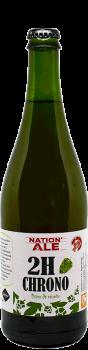 Bière artisanale saison 2H CHRONO brasserie Thiriez