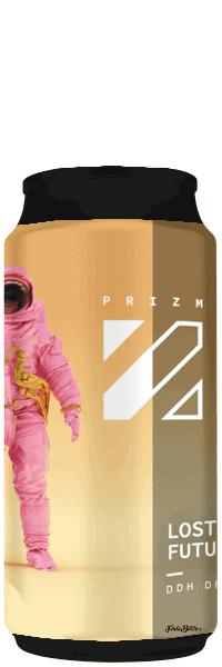 Canette de bières lost the future ddh dipa brasserie Prizm