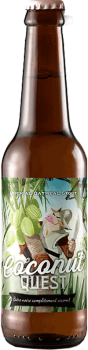 BIERE ARTISANALE COCONUT QUEST IMPERIAL STOUT BRASSERIE PIGGY BREWING