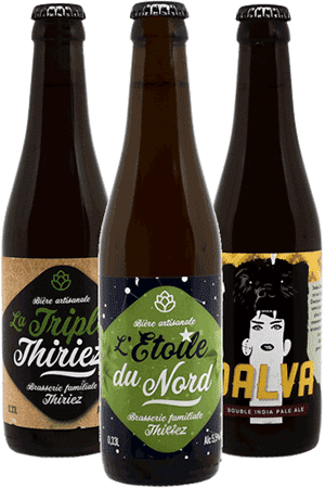 Coffret de bières artisanales THIRIEZ