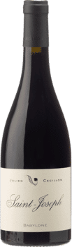 Bouteille de vin Saint Jospeh Rouge Babylone du Domaine Julien Cécillon