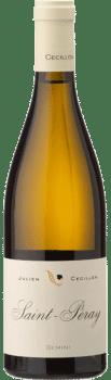 Bouteille de vin Saint Péray Gemini du Domaine Julien Cécillon