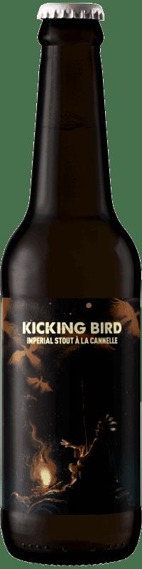 Biere artisanale Kicking Bird Imperial Stout Canelle Brasserie Hoppy Road