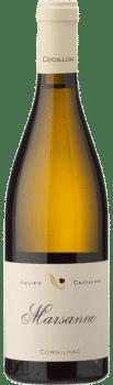 Bouteille de vin Marsanne du Domaine Julien Cécillon