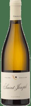 Bouteille de vin Saint Jospeh Blanc Victoria du Domaine Julien Cécillon