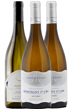 Bouteille de vins du coffret Découverte du Domaine Feuillat-Juillot en Bourgogne