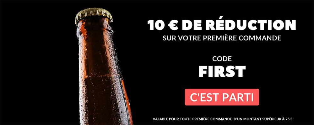 10 € offerts sur votre première commande code First
