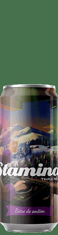 Canette de bière Stamina Triple NEIPA Brasserie Piggy Brewing Company