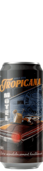 Canette de bière Tropicana Triple NEIPA Brasserie Piggy Brewing Company