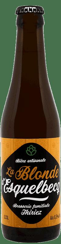 Bière artisanale la blonde d'esquelbecq brasserie Thiriez