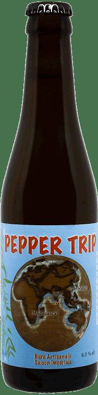 Bière artisanale pepper trip brasserie Thiriez