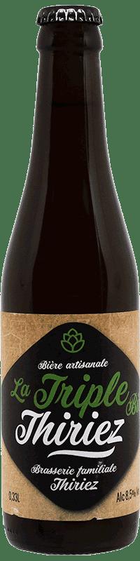 Bière artisanale triple bio brasserie Thiriez