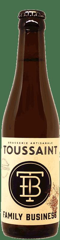Bouteille de Grape Ale Les Paissels brasserie Toussaint