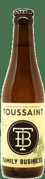 Bouteille de biere Lager les Marettes brasserie Toussaint