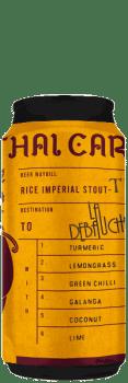 Canette de Bière Thai Cargo Rice Imperial Stout brasserie La Débauche
