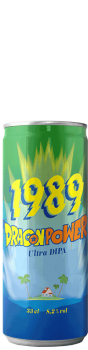 Canette de bière Dragon Power DIPA Brasserie 1989 Brewing