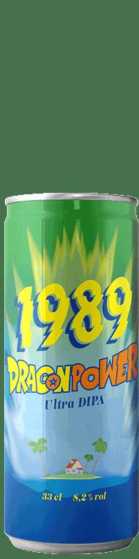 Canette de bière Dragon Power DIPA Brasserie 1989 Brewing