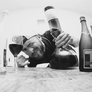 David Large, vigneron en Beaujolais