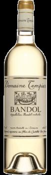 Bouteille de vin Bandol Blanc du Domaine Tempier