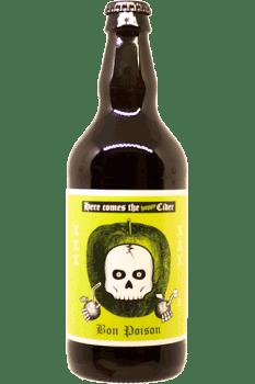 Bouteille de Cidre Hoppy Cider de la brasserie Bon Poison