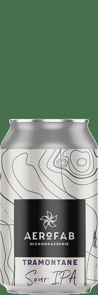 Canette de bière Tramontane Sour Ipa brasserie aerofab