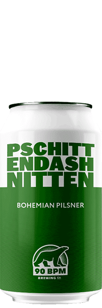 Bière Pilsner Pschitt brasserie 90 BPM