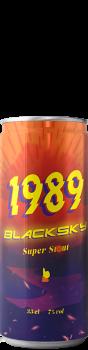Canette de bière Dragon Power India Stout Brasserie 1989 Brewing
