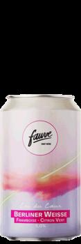 biere artisanale cri du coeur berliner weisse framboise citron vert brasserie fauve