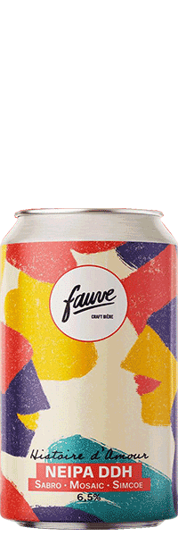 biere artisanale histoire d'amour Neipa DDH brasserie fauve