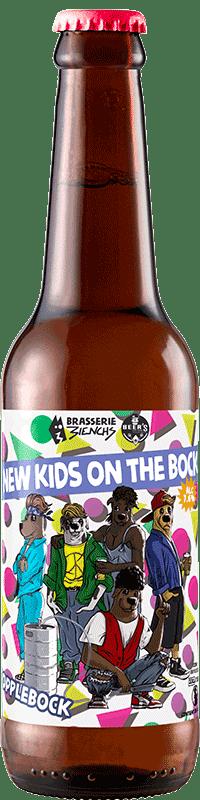 Bouteille de bière artisanale Dopplebock Brasserie 3ienchs
