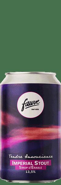 biere artisanale tendre insouciance imperial stout brasserie fauve