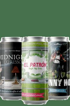 Coffret nouveautés Canettes nouveautés bières artisanales Brasserie Piggy Brewing Co