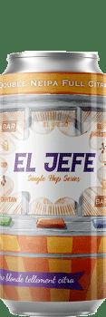 Canette de bière El Jefe Double Neipa Citra Piggy Brewing Company
