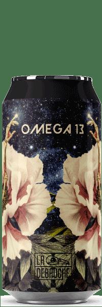 Canette de Bière Omega 13 Saison DH de la brasserie La Débauche