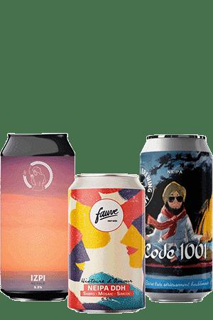Coffret Cool Beer NEIPA Brasseries artisanales françaises