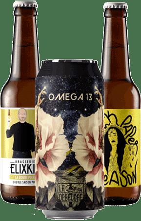 Coffret Cool Beer Saison Brasseries artisanales françaises