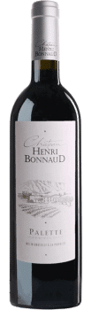 Vin Palette Rouge du Château Henri Bonnaud