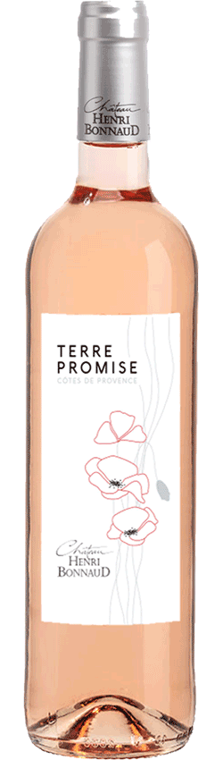 Vin rosé Terre Promise Côtes du Provencedu Château Henri Bonnaud
