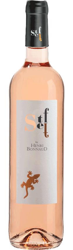 Vin rosé Steff du Châteauu Henri Bonnaud