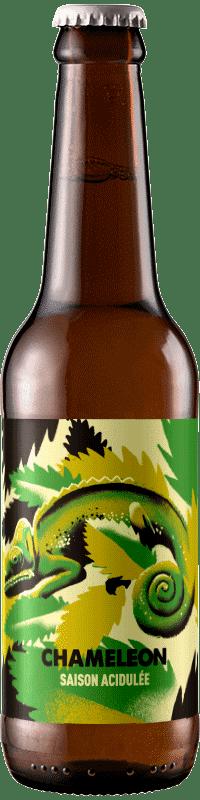 Canette de bière artisanale Chameleon saison Brasserie Hoppy Road