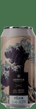 Canette de bière Fujin Double Neipa brasserie aerofab
