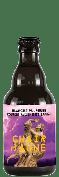 BIERE CHAIR JAUNE BRASSEURS CUEILLEURS