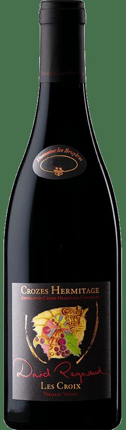Bouteille de vin Crozes-Hermitage Les Croix du Domaine Les Bruyères de David Reynaud