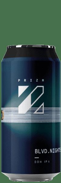 Canette de bières BOULEVARD NIGHT DDH IPA brasserie Prizm