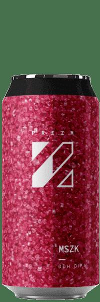 Canette de bières MSZK DDH DIPA brasserie Prizm